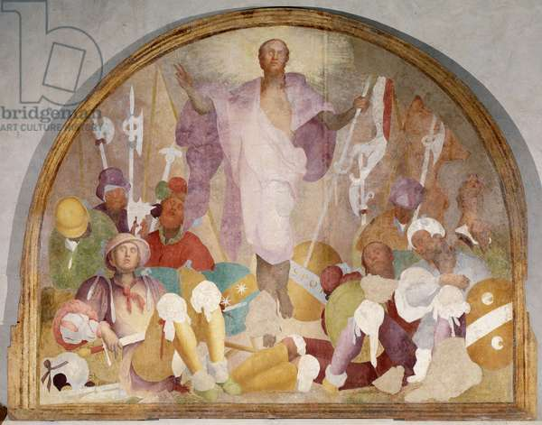Resurrection - Fresco, 1523-1525