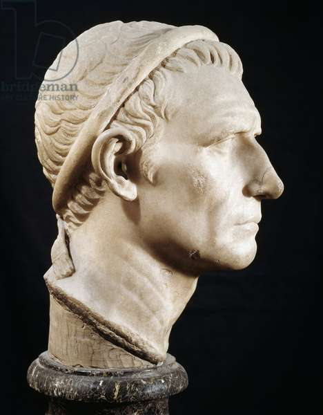 Head of  Antiochus III the Great (Marble sculpture)