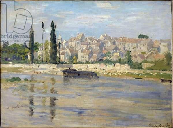 Carrieres-Saint-Denis (Carrieres Saint Denis, now Carrieres sur Seine). Painting by Claude Monet (1840-1926), 1872. Oil on canvas. Dim: 0.61 x 0.81m. Paris, Musee d'Orsay.