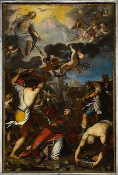 Stoning of St. Stephen, 1604