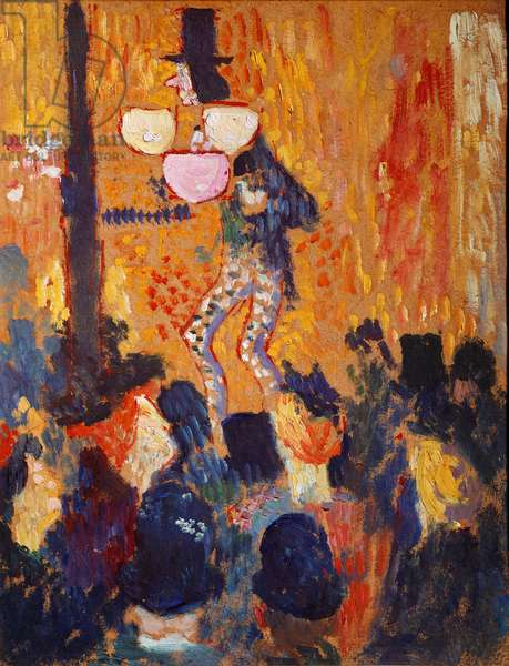 The fair or the parade Painting by Pierre Bonnard (1867-1947) Collection Alphonse Bellier