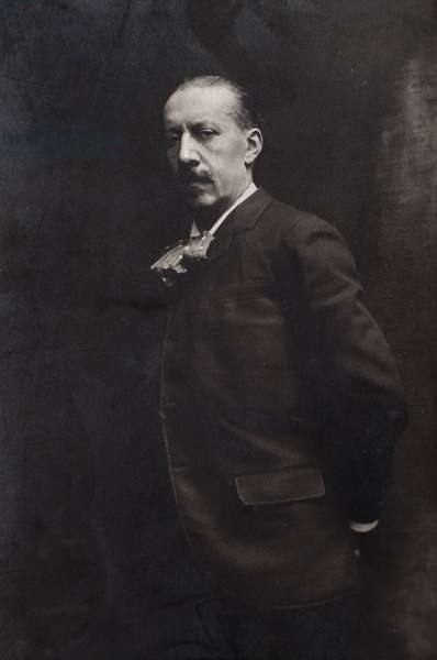 Portrait of French composer Charles Maria Widor (1845-1937)
