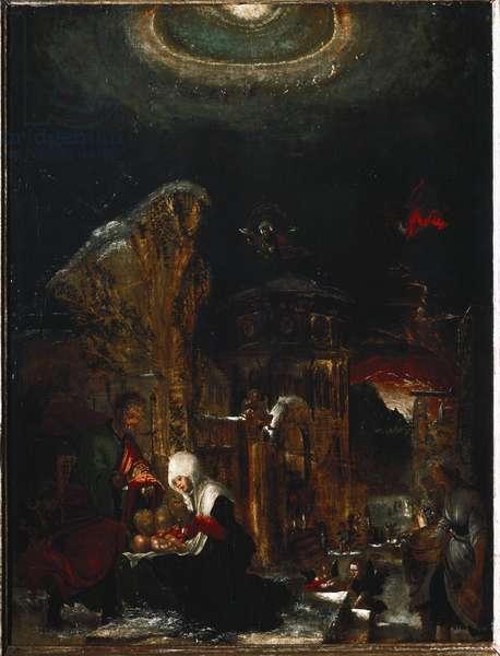 Nativity (Painting, 1520-1525)
