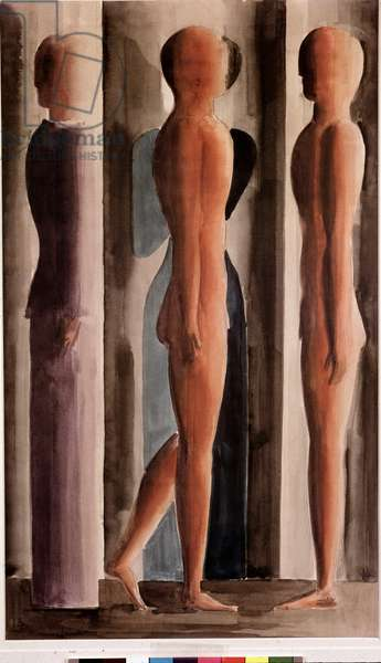 Formation (Watercolour, 1926)