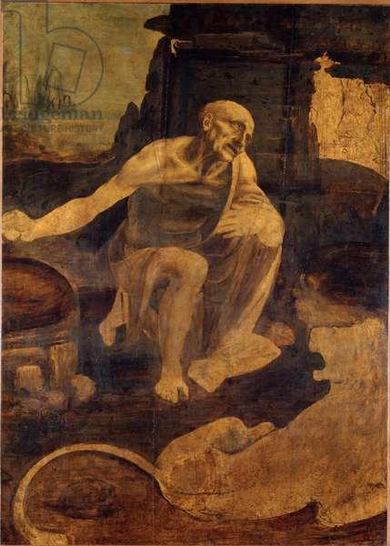 Saint Jerome, c.1480 (oil on wood)