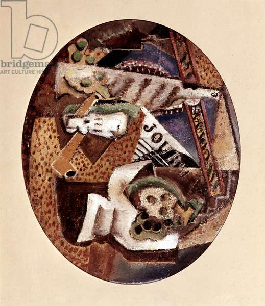 Glass, Pipe and Bottle, 1914 (painting)