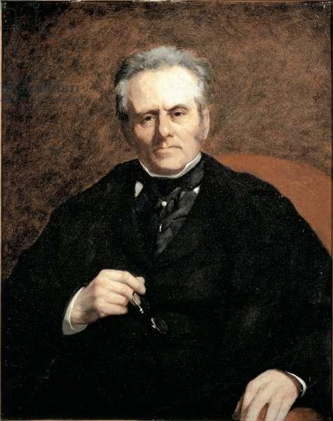 Portrait of William Sisley, 1864 (Oil on canvas)