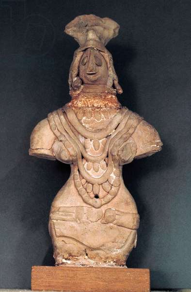 Figurine, Mohenjo-Daro, c.2400 BC (terracotta)