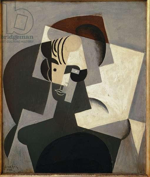 Portrait of Josette Gris - Oil on canvas, 1916