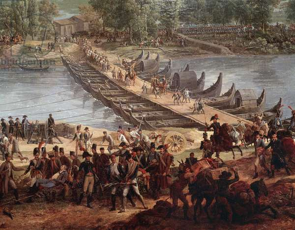 Battle of the Bridge of Arcole (Detail, Painting, 19th century)
