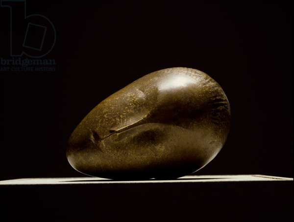 The Sleeping Muse Sculpture by Constantin Brancusi (1876-1957) 1910 Dim. 17,5x26.5 cm Paris, National Museum of Modern Art, Centre Georges Pompidou