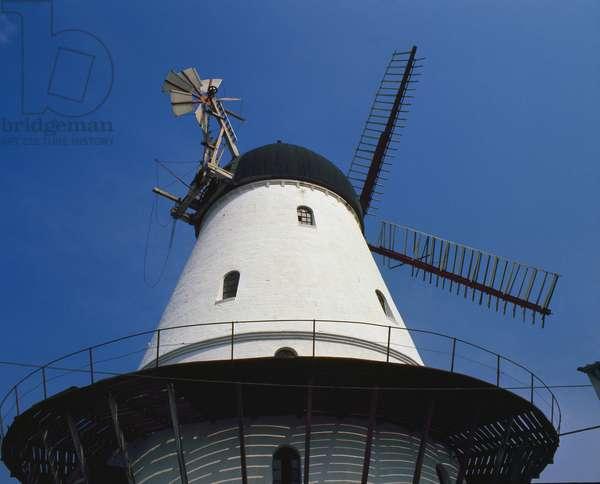 Windmill in the Jutland - Denmark (Windmill in the Jutland - Denmark)