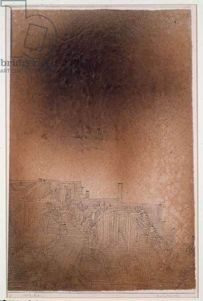 Adrasteapolis Ink and Watercolour by Paul Klee (1879-1940) Dim 30x47 cm Private Collection