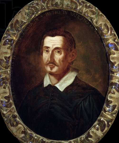 Portrait of Girolamo Frescobaldi (1583-1643) italian composer