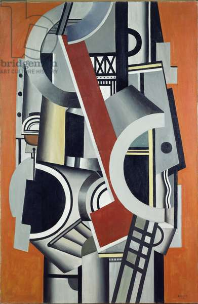 Mechanical Elements, 1924 (oil on canvas)