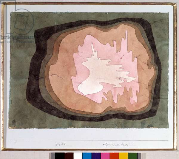 Wohlriechende Inse (fragrant island) Watercolour by Paul Klee (1879-1940) 1929 Dim 35x29 cm Private collection