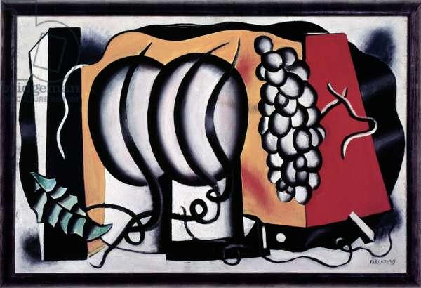 Composition (oil on canvas, 1928)