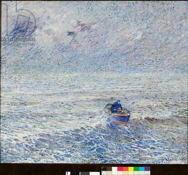 Genoa Sea, 1891 (oil on canvas)