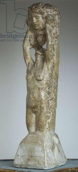 Winged Gorgon, c.1915-18 (chalk)