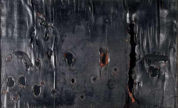 Wood combustion, 1955 (Mixed media)