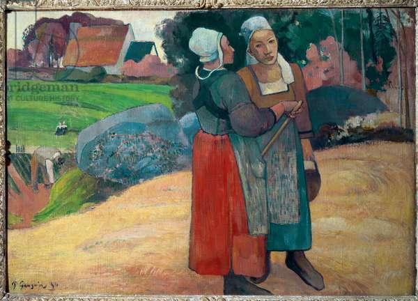 Breton peasants (oil on canvas, 1894)