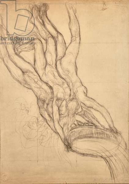 Hyades, c.1914 (pencil on paper)