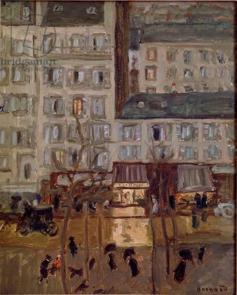 Boulevard de Clichy Painting by Pierre Bonnard (1867-1947) 1904 Brussels, Collection dr. G. Daelemans