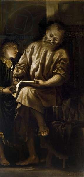 Saint Matthew (oil on canvas)