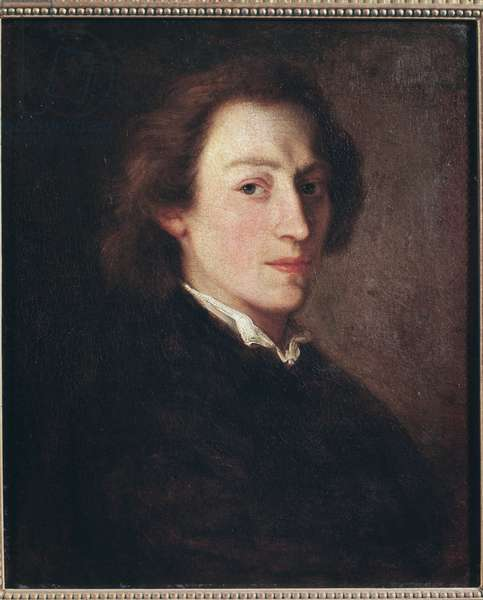 Portrait of Frederic Chopin (oil on canvas, c.1846)