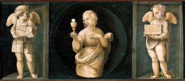Faith, predella from the Baglioni Altarpiece, 1507 (oil on panel)