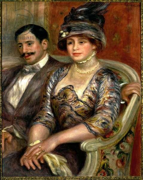 Mr and Mrs Bernheim de Villers (oil on canvas, 1910)