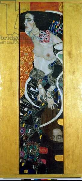 Judith II (Salome), with Holoferne's head, 1909 (oil on canvas)