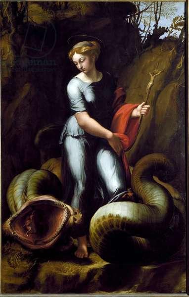 Saint Margaret (oil on canvas, c. 1520)