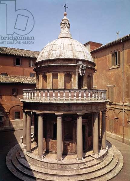 The Tempietto, in the courtyard of San Pietro in Montorio, Rome, c.1502
