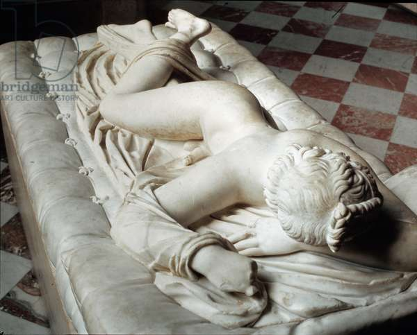 Sleeping Hermaphrodite (marble sculpture, 2nd century BC)
