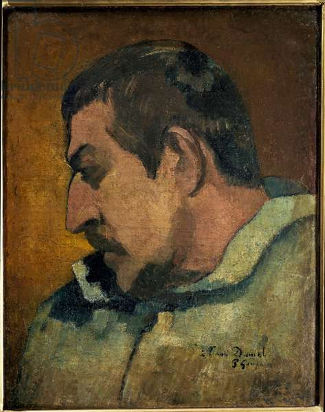 Portrait of the artist (oil on canvas, 1896)