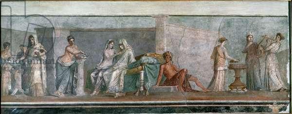 The Nozze Aldrobrandini (The Wedding Aldobrandines) Fresco