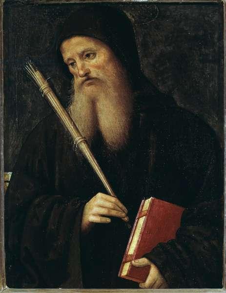 Benedict of Nursia (Painting, 15th-16th century)