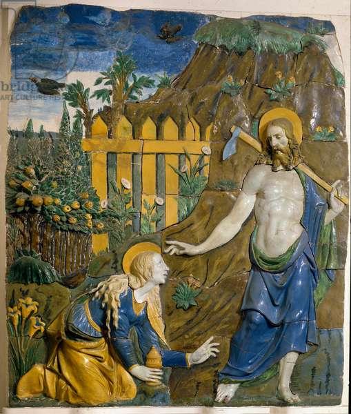 Noli Me Tangere Ceramic Relief by Giovanni della Robbia (1469-1529) Florence, Museo Nazionale del Bargello