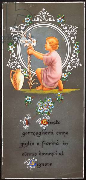 Just as the flower of lily the righteous will germinate and bloom forever before the Lord Pious Image. Map of the beginning of the 20th century