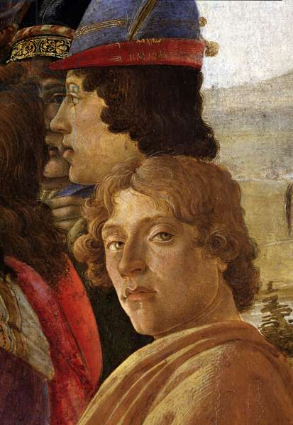 The Adoration of the Magi, detail, 1475 (tempera on wood)