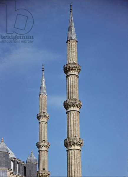 Detail of the Minarets (1575)
