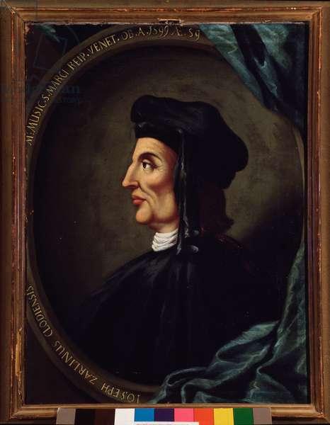 Portrait of Gioseffo Zarlino (painting, 16th century)