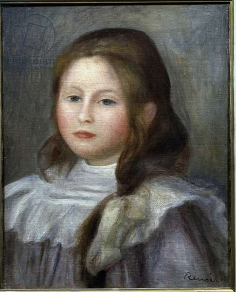 Portrait of a child (oil on canvas, 1910-1912)