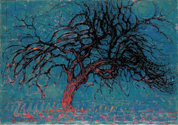Red tree, 1908 (painting)