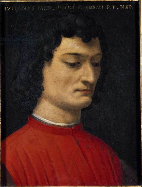 Portrait of Giuliano de' Medici, 16th century (painting)