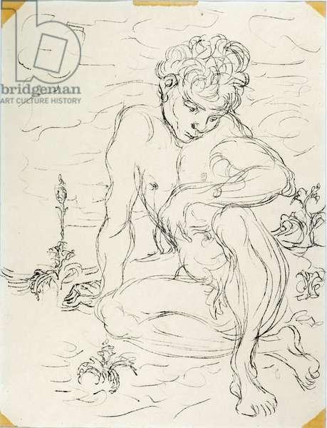 Marzio, 1940 (oil on paper)