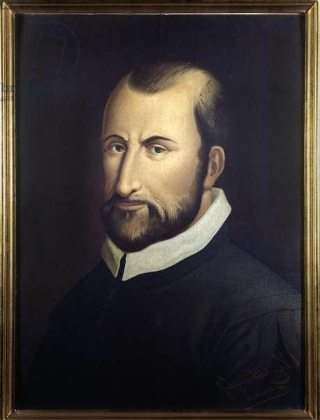 Portrait of italian composer Giovanni Pierluigi da palestrina (1525-1594).