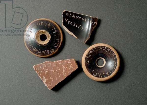 Ballot Discs, 480 BC (terracotta)