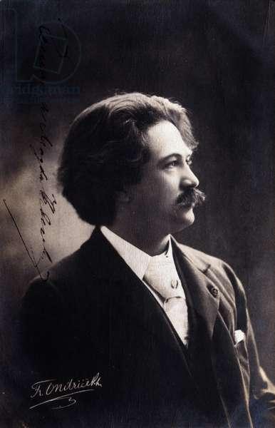 František Ondříček (b/w photo)